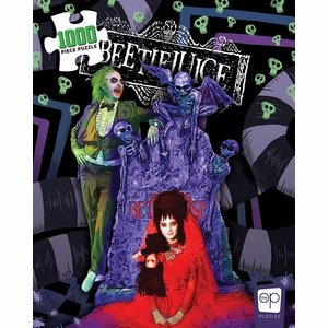 Beetlejuice Jigsaw Puzzle Graveyard Wedding (1000 pieces)