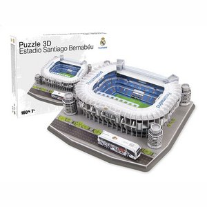 3D Puzzle Real Madrid: Sant Bernabeu 160 pieces