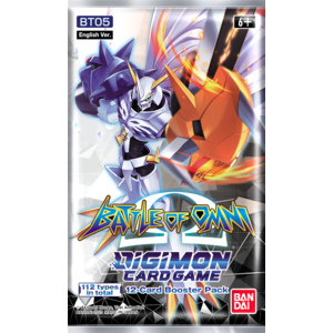 DIGIMON TCG S4 BATTLE OF OMNI BOOSTER