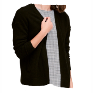 CKS cardigan Mareen , Black