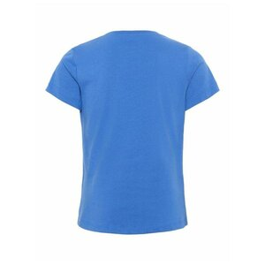Name It Meisjes Tshirt Dunya Strong Blue