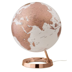 Atmosphere Wereldbol Design Light & Colour Metal Bright Copper (en)