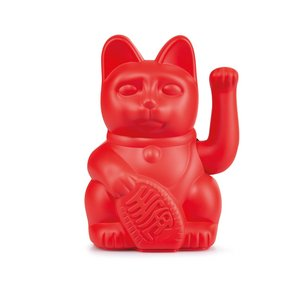 Lucky cat red
