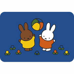 Miffy Play Blue Speelmat Nijntje