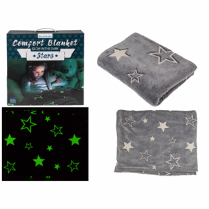 Fleece Deken Sterren Glow in the Dark