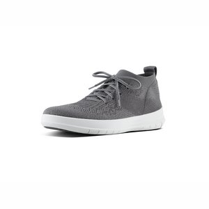 FitFlop Uberknit High Top J30 grijs