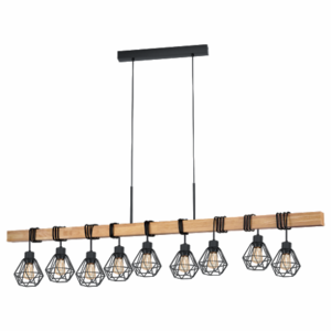 Hanglamp Townshend-5 hout
