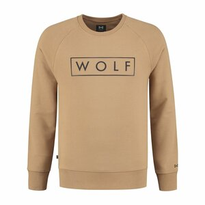 WOLF Sweater 3D (Caramel)