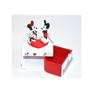 Mickey and Minnie Mon Amour Musical Jewellery Box