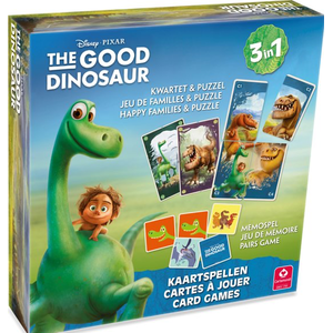 The Good Dinosaur - 3 in 1 - kwartet en memospel