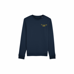 The one and only daddy sweater XXL French navy