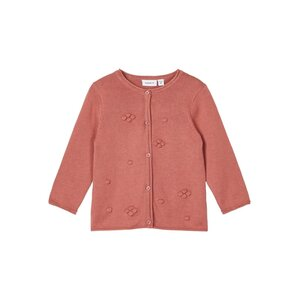 Name-it Meisjes Knit Cardigan Talla Withered Rose