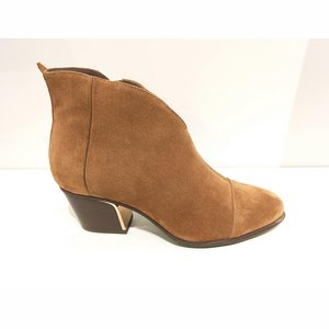 Softwaves 8.04.03/N kort laarsje suede cognac