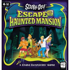 Scooby-Doo Board Game Escape from the Haunted Mansion - A Coded Chronicles™ Game *English Version*