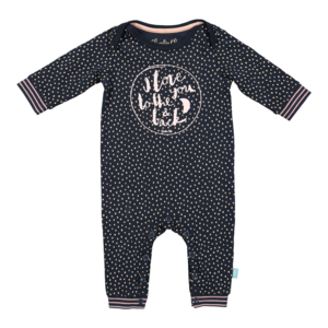 Jumpsuit Charlie Choe BABY FOREST DOTS  'donker blauw'
