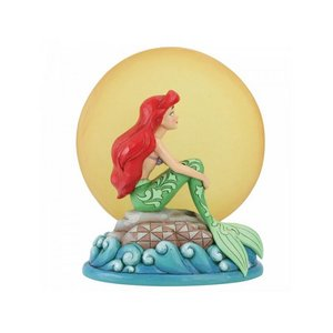 Disney Traditions - Mermaid by Moonlight (Ariel with Light up Moon Figurine)