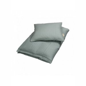 Filibabba bedlovertrek tetra 100x 140cm Dark Mint