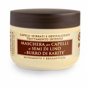 L'Erboristica Hair Mask with Linseed & Shea Butter 200 ml