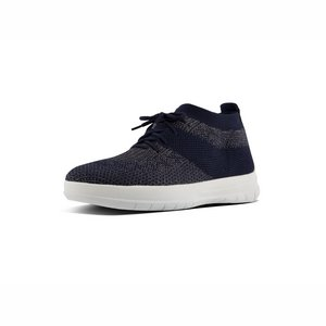 FitFlop Uberknit High Top J30 blauw