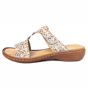 Rieker Slippers 608A0 multicolor