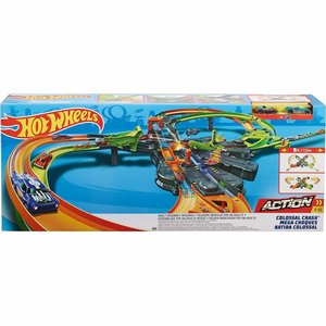 Hot Wheels - Colossal Crash racebaan