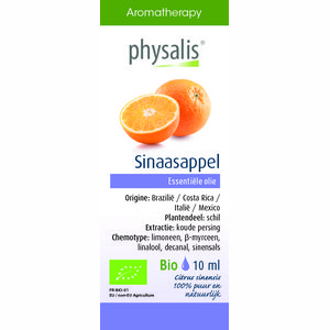 Physalis Essentiële Olie Sinaasappel 10 ml