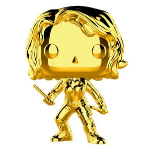 Pop! Marvel: MCU 10th Aniversary - Chrome Black Widow