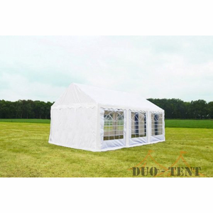 Partytent 6x6 Classic PVC Brandvertragend Wit