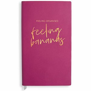 Notaboek - Feeling Organised, Feeling Bananas