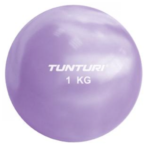 Tunturi Fitness Yoga Ball 1 KG Purple
