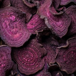 Dehydrated beetroot