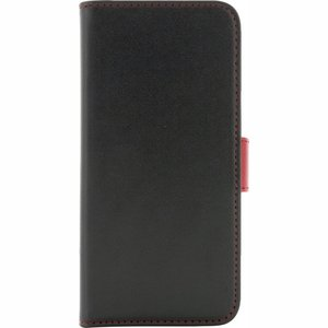 Holdit Samsung S6 Wallet Case - Black/Red