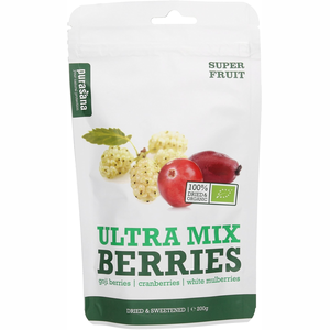 Purasana Superfruit Berrie Mix 250 g