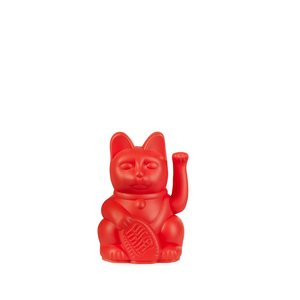 Lucky cat mini red