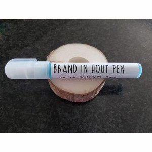 Brand in hout pen 3 mm