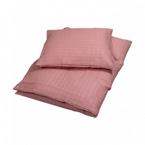 Filibabba dekbedovertrek junior 100 x 140 cm - Dusty rose