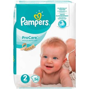 Pampers Procare Premium Protection Maat 2 - 36 Luiers