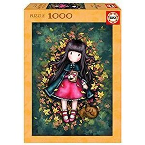 Educa puzzel - Santoro London Gorjuss - Autumn Leaves - 1000 stukjes