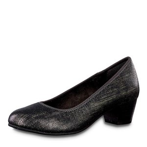 Jana Softline Pumps 8-22361-23 zwart metallic