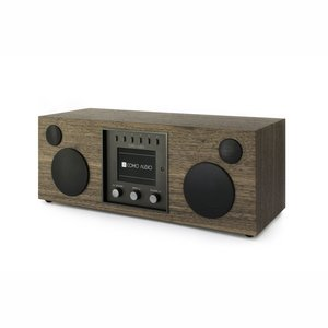 Como Audio Duetto Stereo Radio Walnut