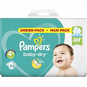 Pampers nr4+ Baby-Dry 94x