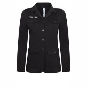 Zoso Sweat blazer zwart