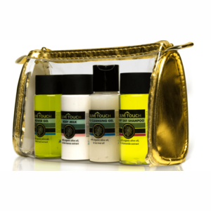 Olive Touch Travel Kit verzorgingsproducten van Olive Touch