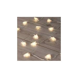 DecoKing kerstlichtketting Bomen warm wit, 20 LED's