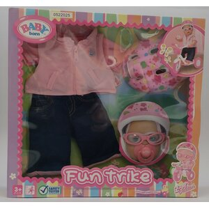 Zapf creation - Baby Born - Fun Trike - Driewieler outfit