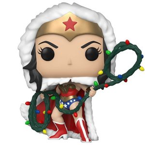 Pop! DC: Holiday - Wonder Woman with Lights Lasso