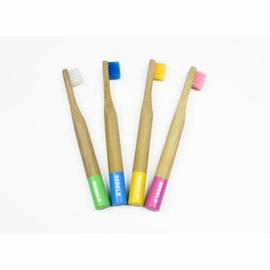 Rebels With A Cause Bamboo Toothbrush Kids Soft Bristles