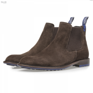 Floris van Bommel Men 10902/07 Dark Brown Suede