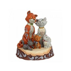 Disney Traditions - Carved by Heart Aristocats Figurine