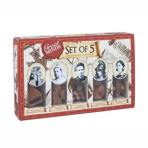 GREAT MINDS SET OF 5 PUZZLE FEMALE